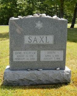 Jane <I>Wilhelm</I> Saxl