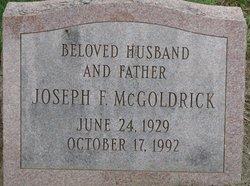 Joseph Francis McGoldrick