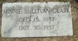 Minnie <I>Sullivan</I> Clark