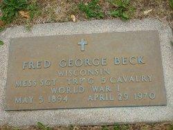 Fred George Beck