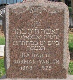 Ida Yablon