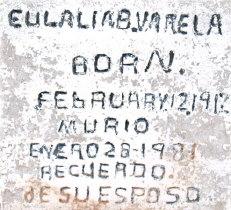 Eulalia B Varela