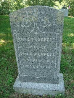 Susan <I>Barrett</I> Bennett
