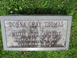 Donna Gray <I>Thomas</I> Campbell