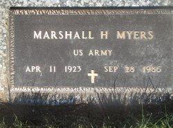 "Marshall Harrison ""Toots"" Myers"