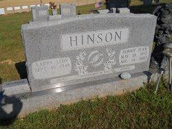 Bonnie Jean <I>Holt</I> Hinson