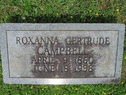 Roxanna Gertrude Campbell