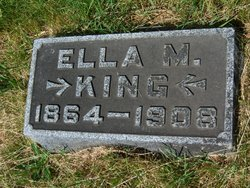 Ella M. <I>Burch</I> King