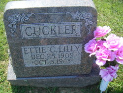 Ettie C <I>Lilly</I> Cuckler