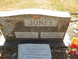 Julia L <I>Ellis</I> Jones