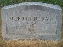 Milford Durain