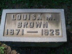 Louisa M. Brown