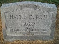 Hattie Hagan <I>Franklin</I> Durain