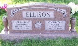 L. Geraldine <I>Davidson</I> Ellison