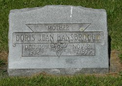 Doris Jean Hansbrough