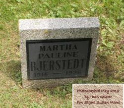 Martha Pauline Bjerstedt