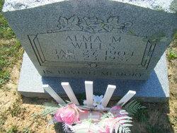 Alma M Wills