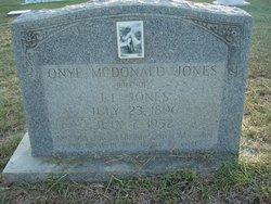 Onye <I>McDonald</I> Jones