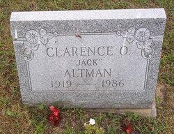 """Clarence O. """"Jack"""" Altman"""