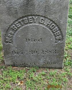 Mrs Betsey G <I>Saltmarsh</I> Hobbs