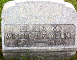 Eliza M <I>Galentine</I> Young