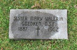 Sr Mary Valeria Goedken