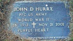 John D Hurry