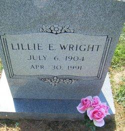 Lillie Ellen <I>Gunter</I> Wright