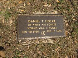 Daniel T Hegar