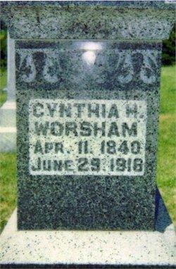 Cynthia Halen <I>Williams</I> Worsham