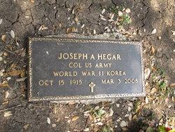 Joseph A Hegar