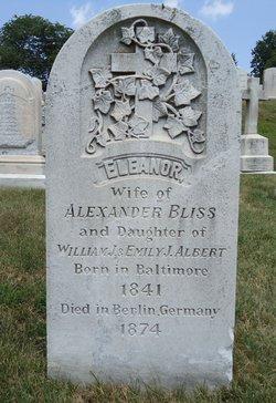 Eleanor Taylor <I>Albert</I> Bliss