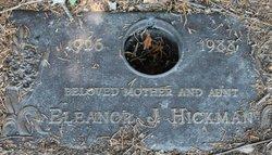 Eleanor J Hickman