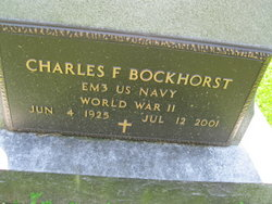 Charles F Bockhorst