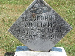 Beauford R Williams