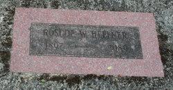 Roscoe W Heffner