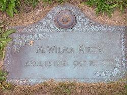 M. Wilma Knox