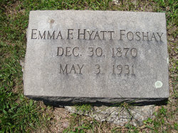 Emma F. <I>Hyatt</I> Foshay