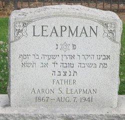 Aaron S Leapman