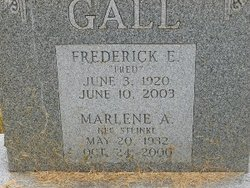 "Frederick Erwin ""Fritz"" Gall"