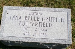 Anna Belle <I>Griffith</I> Butterfield