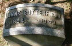 Anne Jane Butterfield