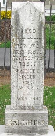 Beatrice E Singer