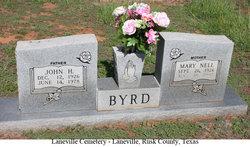 Mary Nell <I>Moore</I> Byrd