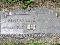 Florence Eileen <I>Truax</I> Miller