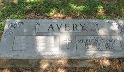 """Milburn G. """"Mil"""" Avery"""