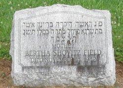 Bertha Shovitz Field
