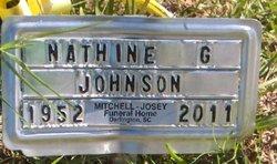 Nathine G Johnson