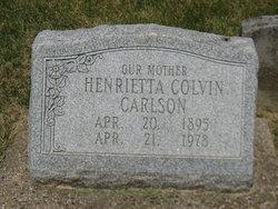 Henrietta <I>Colvin</I> Carlson