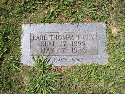 Earl Thomas Huey